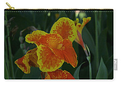 Natural Splash Of Color Carry-all Pouch by John Glass
