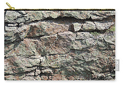 Natural Stone Wall Carry-all Pouch by Jayne Wilson
