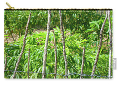 Nature And Wire Carry-all Pouch