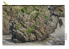 Nature Blooming From The Rocks Carry-all Pouch