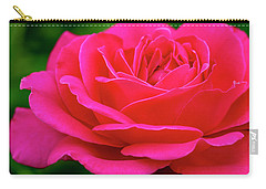 Nature Bright Pinnk Beauty Carry-all Pouch by Teri Virbickis