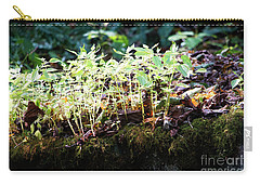 Nature Finds A Way Carry-all Pouch by Rebecca Davis