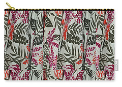 Carry-all Pouch featuring the photograph Nature Pattern For Pillows Curtains  Towels Tote Bags Greeting Cards Phone Cases Gifts By Navinjoshi by Navin Joshi