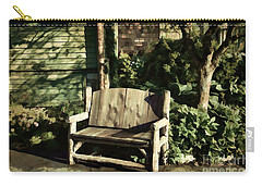 Nature - Peacefulness  Carry-all Pouch by Judy Palkimas