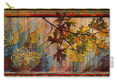 Carry-all Pouch featuring the photograph Nature Tapestry 1997 by Padre Art