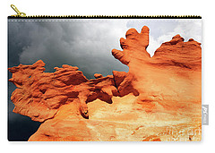 Carry-all Pouch featuring the photograph Nature's Artistry Nevada 2 by Bob Christopher