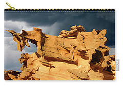Carry-all Pouch featuring the photograph Nature's Artistry Nevada 3 by Bob Christopher