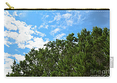 Carry-all Pouch featuring the photograph Nature's Beauty - Central Texas by Ray Shrewsberry