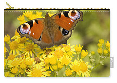 Carry-all Pouch featuring the photograph Nature's Beauty by Ian Middleton