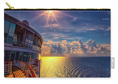 Natures Beauty At Sea Carry-all Pouch