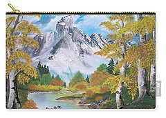 Carry-all Pouch featuring the painting Nature's Beauty by Sharon Duguay