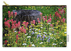 Nature's Bouquet Carry-all Pouch