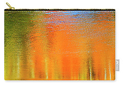 Carry-all Pouch featuring the photograph Nature's Canvas by Gary Hall