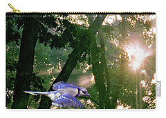 Carry-all Pouch featuring the photograph Nature's Cathedral by Marie Hicks