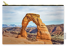 Nature's Delicate Balance Carry-all Pouch