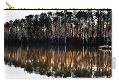 Nature's Design  Carry-all Pouch by Christy Ricafrente