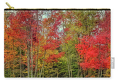 Carry-all Pouch featuring the photograph Natures Fall Palette by David Patterson