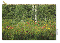 Nature's Flower Garden Carry-all Pouch