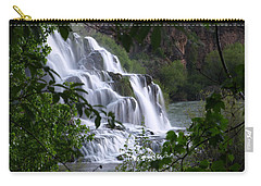 Nature's Framed Waterfall Carry-all Pouch
