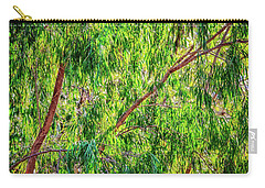 Carry-all Pouch featuring the photograph Natures Greens, Yanchep National Park by Dave Catley