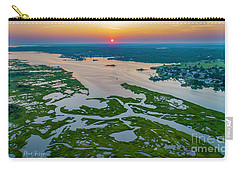 Carry-all Pouch featuring the photograph Natures Hidden Lines by Michael Hughes