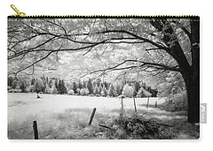 Carry-all Pouch featuring the photograph Natures Inner Soul by John Rivera
