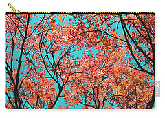 Carry-all Pouch featuring the photograph Natures Magic - Orange by Rebecca Harman