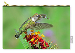 Carry-all Pouch featuring the photograph Nature's Majesty by Rodney Campbell