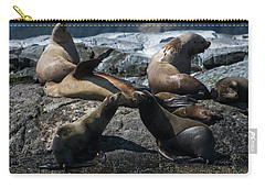 Carry-all Pouch featuring the photograph Nature's Music - Wildlife Art by Jordan Blackstone