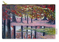 Carry-all Pouch featuring the painting Natures Painting by Marilyn  McNish