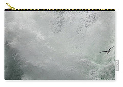 Carry-all Pouch featuring the photograph Nature's Power by Peggy Hughes