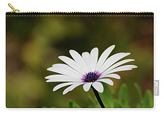 Carry-all Pouch featuring the photograph Natures Pure Beauty 01 by Kevin Chippindall