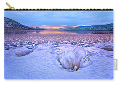 Carry-all Pouch featuring the photograph Nature's Sculpture by John Poon