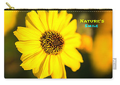 Nature's Smile  Carry-all Pouch by Joseph S Giacalone