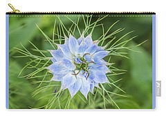 Carry-all Pouch featuring the photograph Natures Star by Wendy Wilton