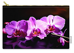 Carry-all Pouch featuring the photograph Nature's Tiara by Hanne Lore Koehler