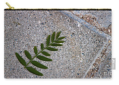 Carry-all Pouch featuring the photograph Nature's Trace by Ana Mireles