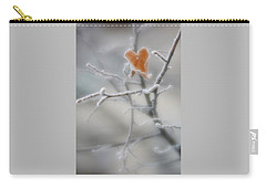 Carry-all Pouch featuring the photograph Nature's Valentine by Diane Alexander