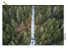 Natures Waterslide  Carry-all Pouch by Alpha Wanderlust