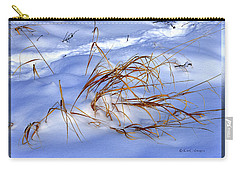Nature's Winter Abstract #3 Carry-all Pouch