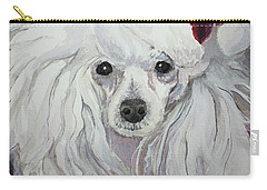 Naughty Or Nice Carry-all Pouch by Rachel Hames