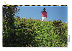 Nauset Lighthouse With Daisies Cape Cod Carry-all Pouch
