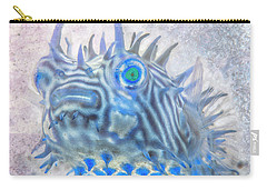 Carry-all Pouch featuring the photograph Nautical Beach And Fish #12 by Debra and Dave Vanderlaan