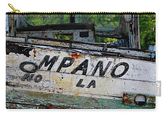Nautical Miles Carry-all Pouch by Lori Mellen-Pagliaro