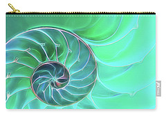 Nautilus Aqua Spiral Carry-all Pouch
