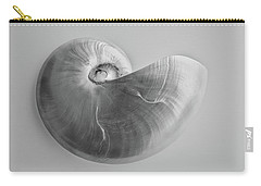 Carry-all Pouch featuring the photograph Nautilus by Louise Lindsay