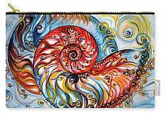 Nautilus Shell - Ocean Carry-all Pouch