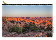 Navajo Land Morning Splendor Carry-all Pouch