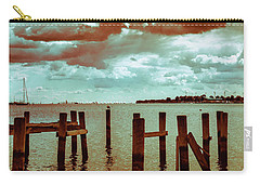 Carry-all Pouch featuring the photograph Naval Academy Sailing School by T Brian Jones