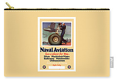 Naval Aviation Has A Place For You Carry-all Pouch